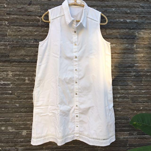 Cotton Ink White Dress