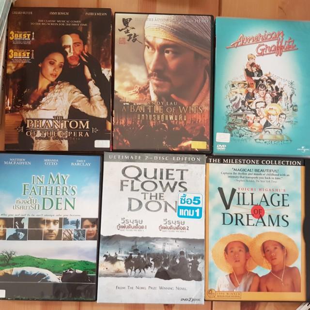 DVD ORI beli di bangkok koleksi pribadi