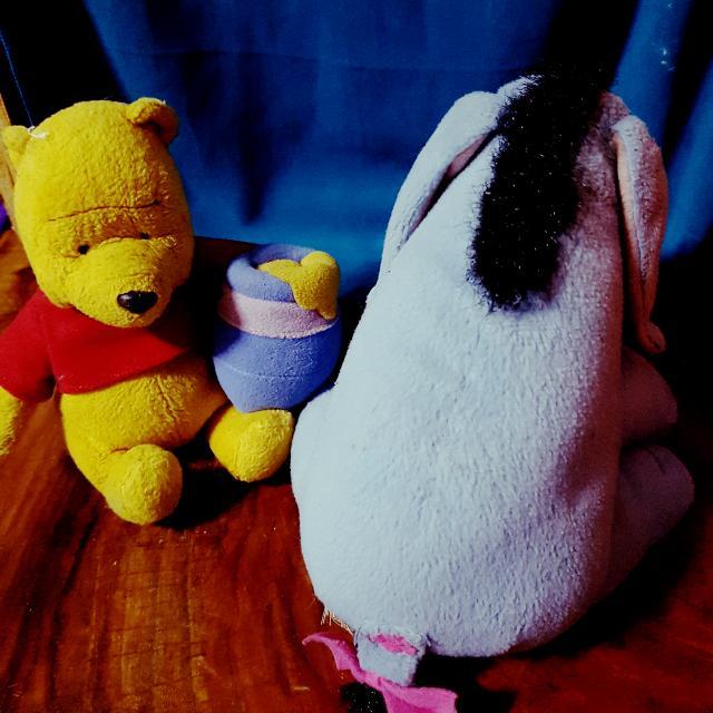 Eeyore And Pooh