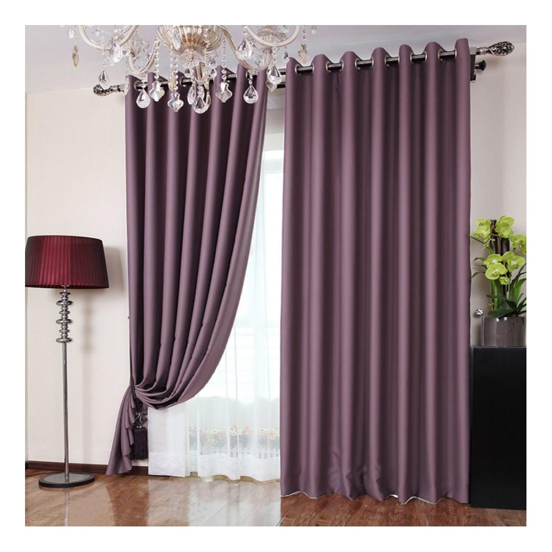 Fabrics Curtain Kain Langsir 110 Wide Rm20 Meter Rose Design Wedding Backdrop Blackout Home Furniture Décor On Carou