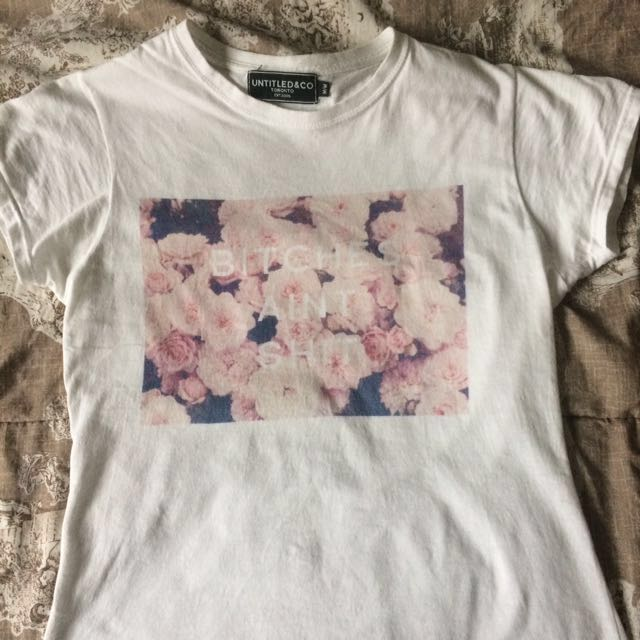 Floral Untitled & Co T-Shirt