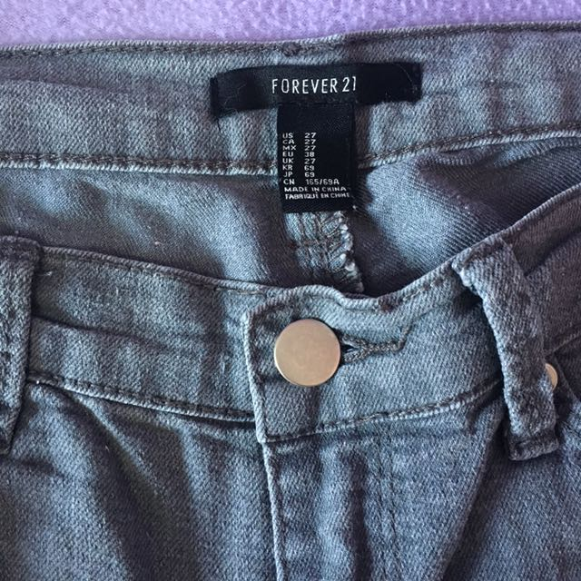 Forever21 pants (gray)
