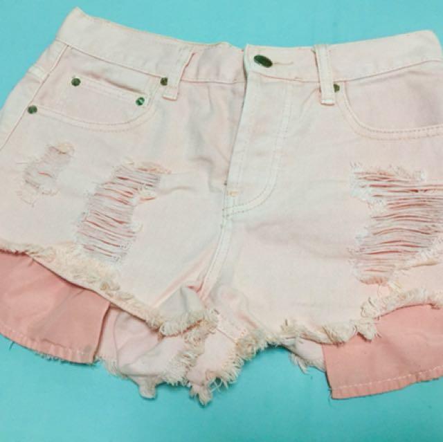 Forever 21 Peach Shorts