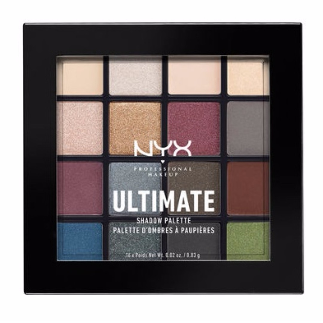 (Free Post) NYX Ultimate Shadow Palette - Smokey & Highlight