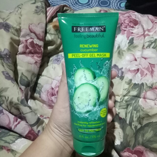 Freeman cucumber peel off mask