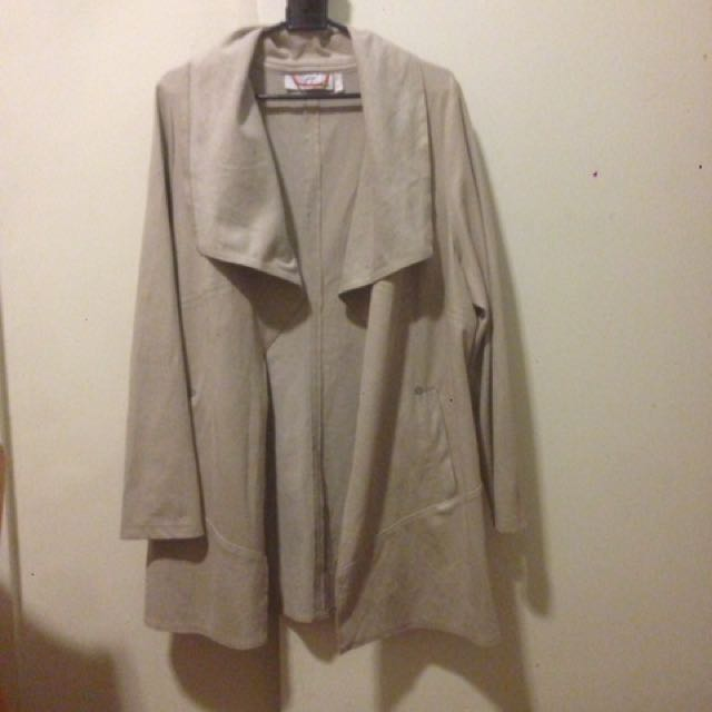 Gigi Vegan Suede Jacket Size 12/14
