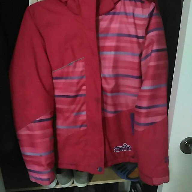Girls winter jacket and Snow pants  size 14