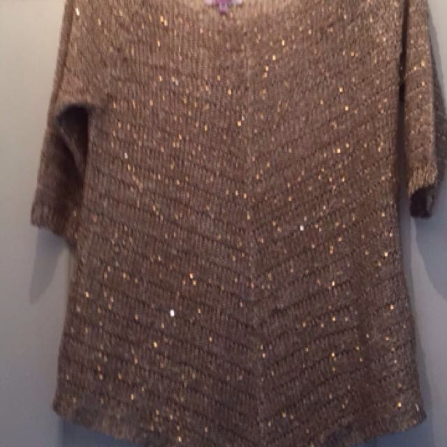 GORGEOUS SPARKLY KNIT