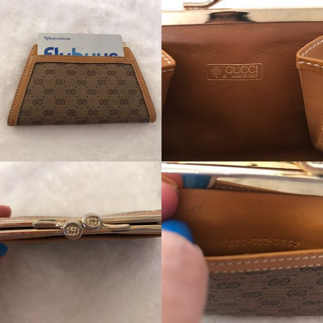 d40f2b238702f1 Gucci- Coin Purse Wallet with Card Slot. Vintage Authentic, Luxury, Bags &  Wallets on Carousell