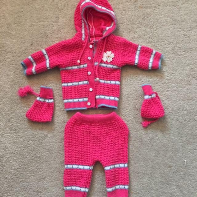 Handmade knitted sweater like new