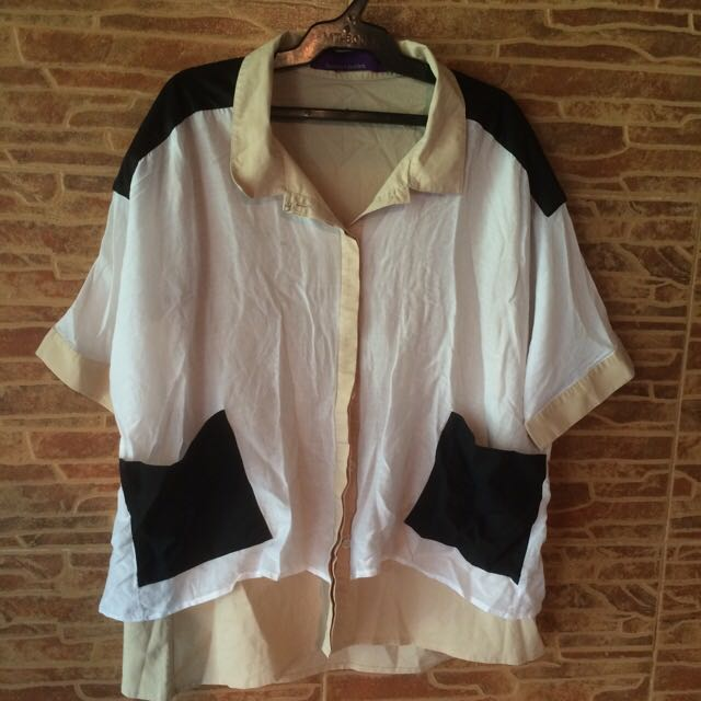 Harlan And Holden Oversized Blouse