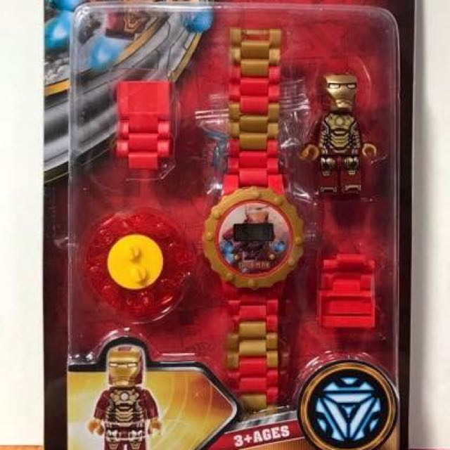 Iron Man Toy Watch