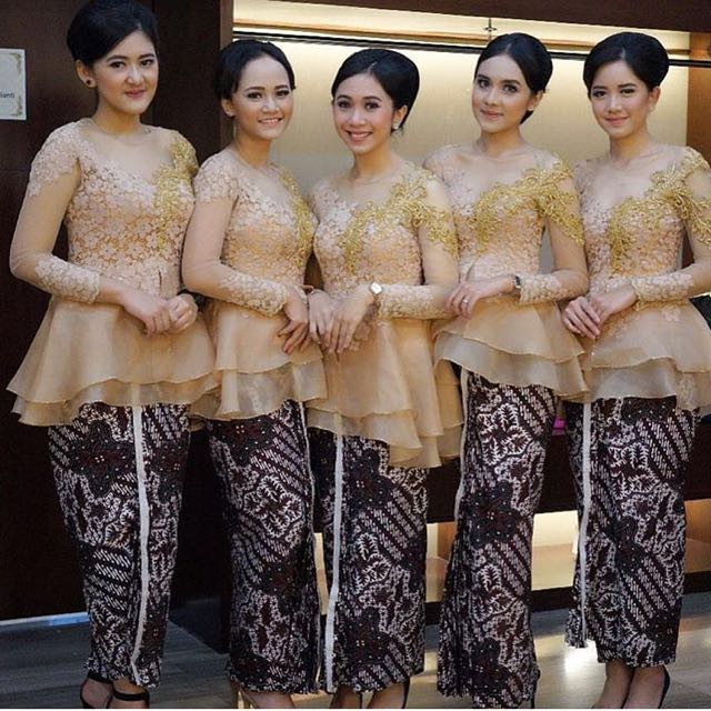 Jasa Jahit Kebaya Modern Custom Dress Gaun Pesta Women S Fashion
