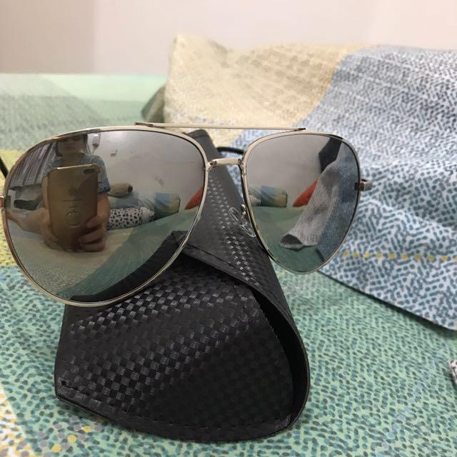 Kacamata Polarize Warna Silver
