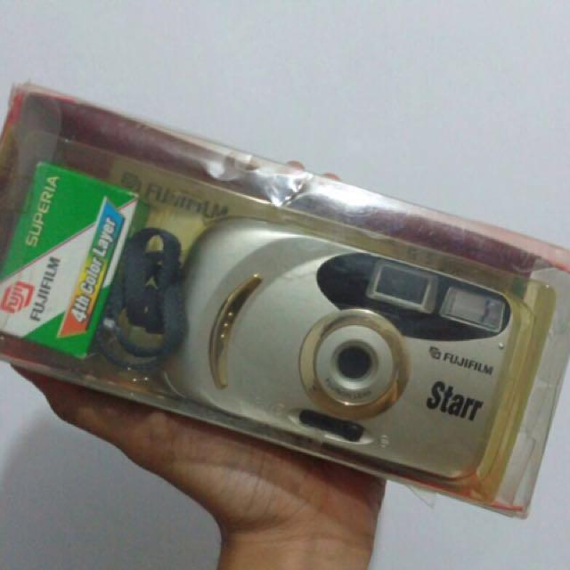 Kamera Analog Fujifilm Starr + fuji superia
