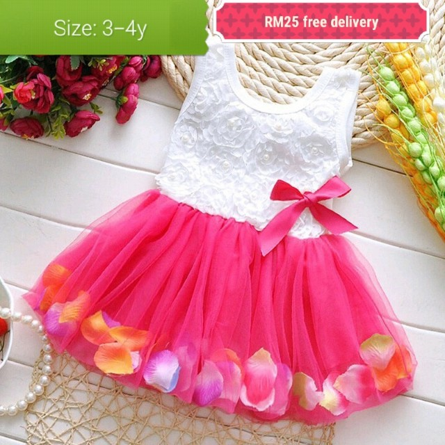 Kids girl princess dress