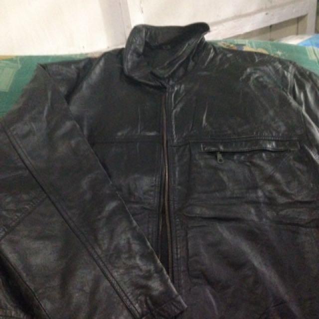 Leather jacket xl