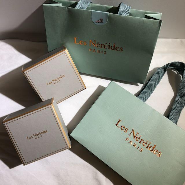 Les Nereides 紙袋紙盒