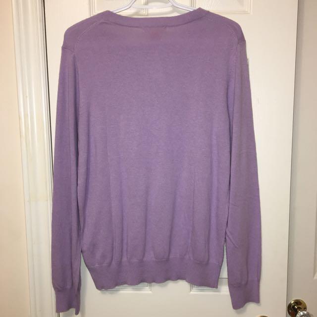 Light purple long sleeve