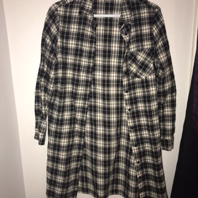 Long west 49 flannel