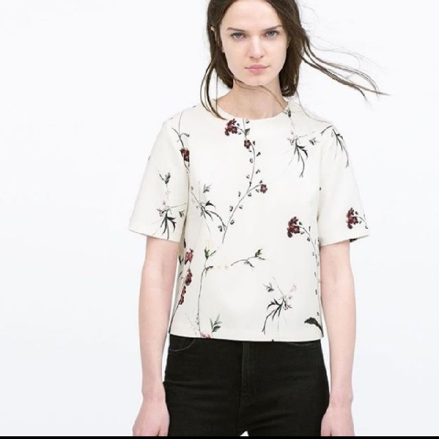 LOOKING FOR THIS ZARA FLORAL TOP