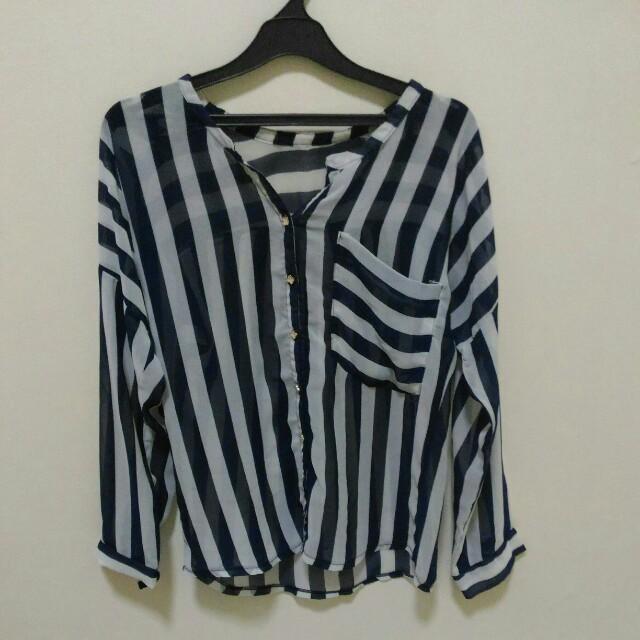 Loose Stripe Shirt