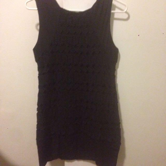 Magali Pascal Black Mini Dress