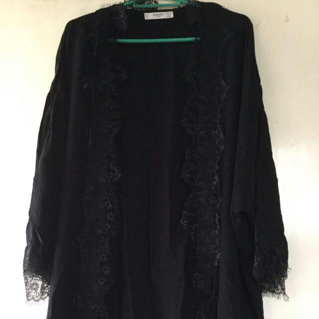 vende envío gratis nuevo diseño Mango Lace Kimono