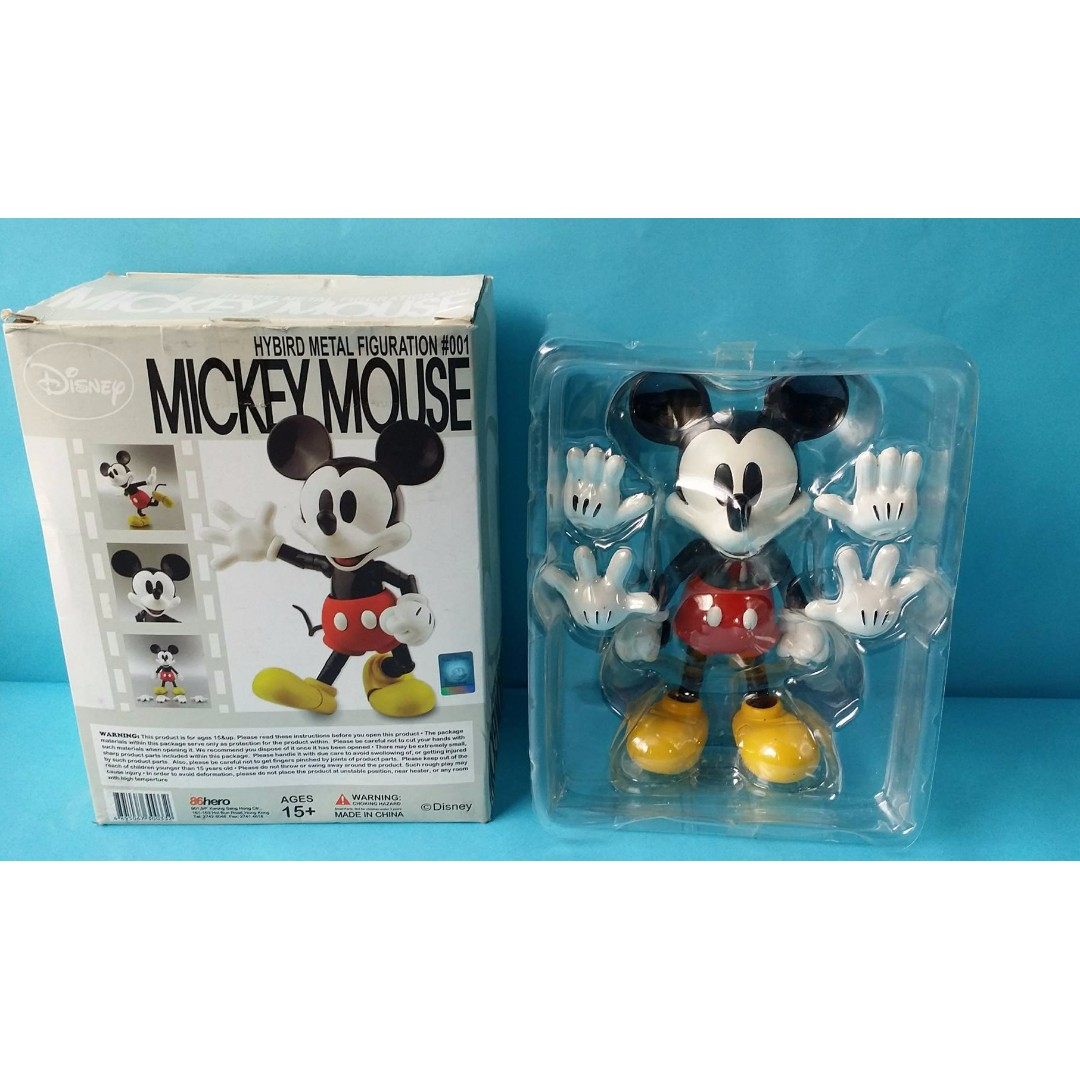 Mickey Mouse Hybrid Metal Figuration #001