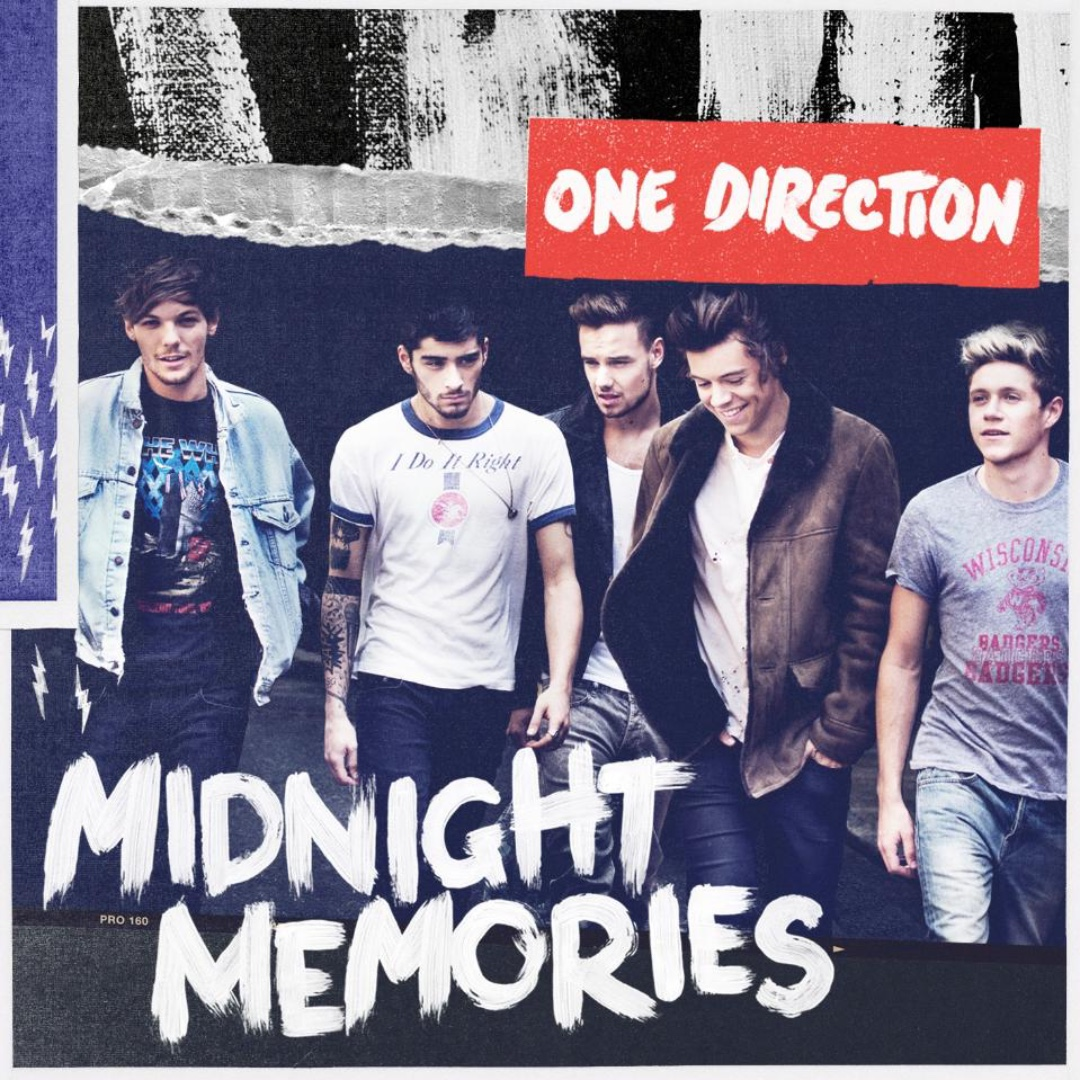 Midnight Memories (2013) (CD) - One Direction