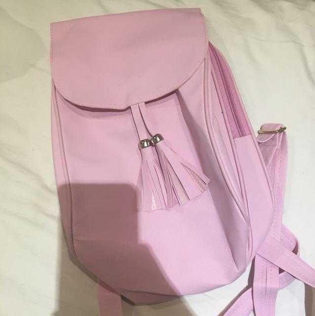 Mini ransel pink