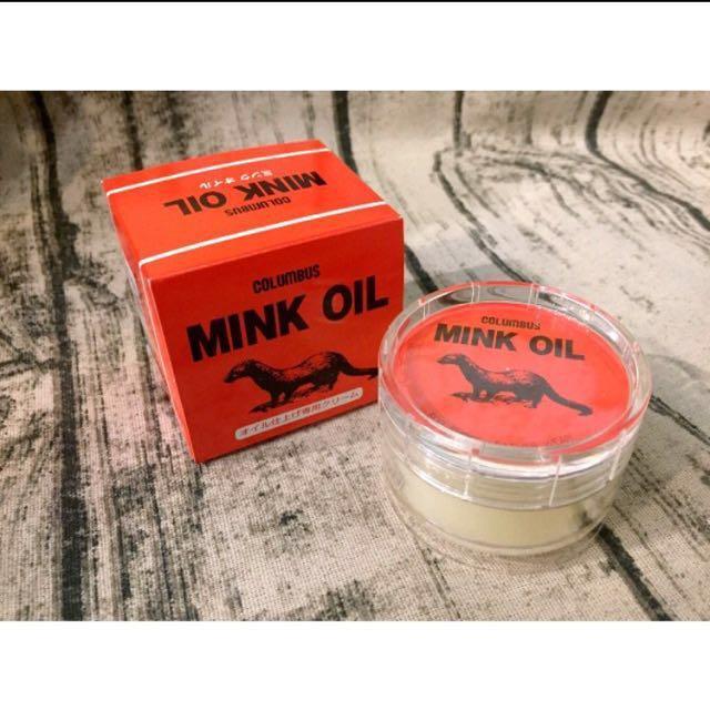 日本mink  oil皮革保養油