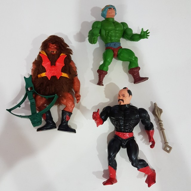 MOTU heman vintage masters of the universe figures