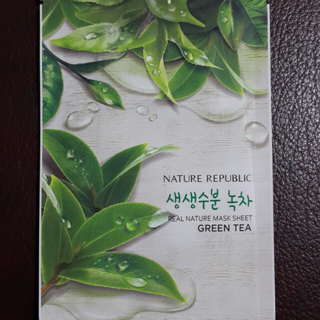 Nature Republic Green Tea Masker
