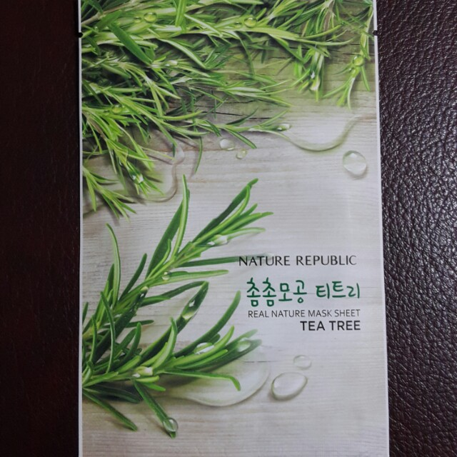 Nature Republic Tea Tree Masker