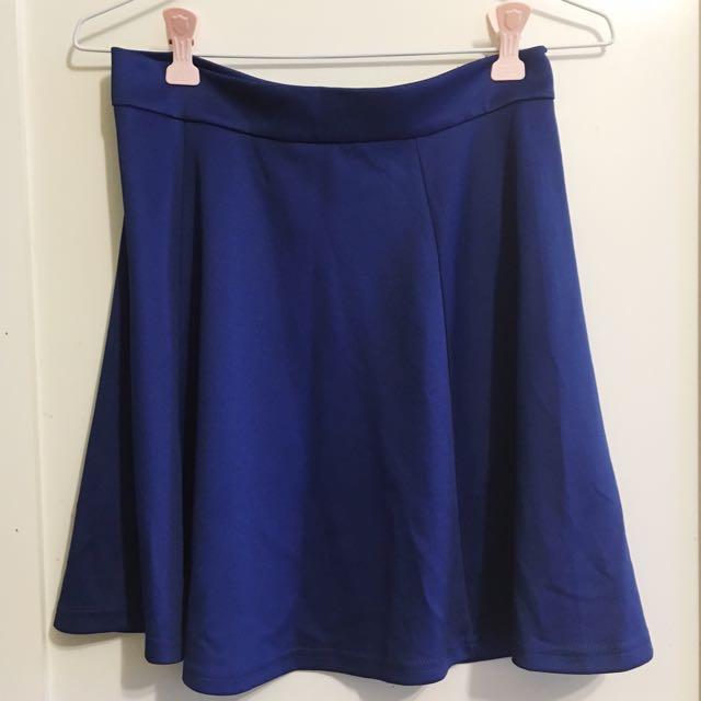 全新NET後拉鏈傘狀短裙
