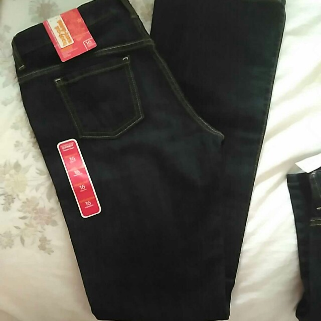 New bootcut jeans size 16