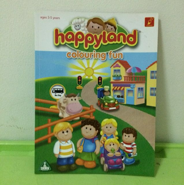 [NEW] Happyland Colouring Fun (ELC)