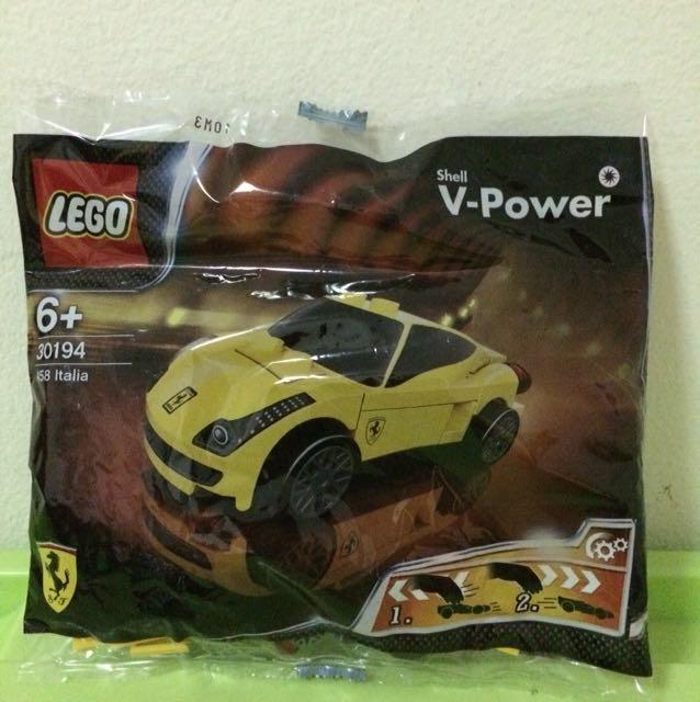 [NEW] Shell Lego Ferrari 458 Italia