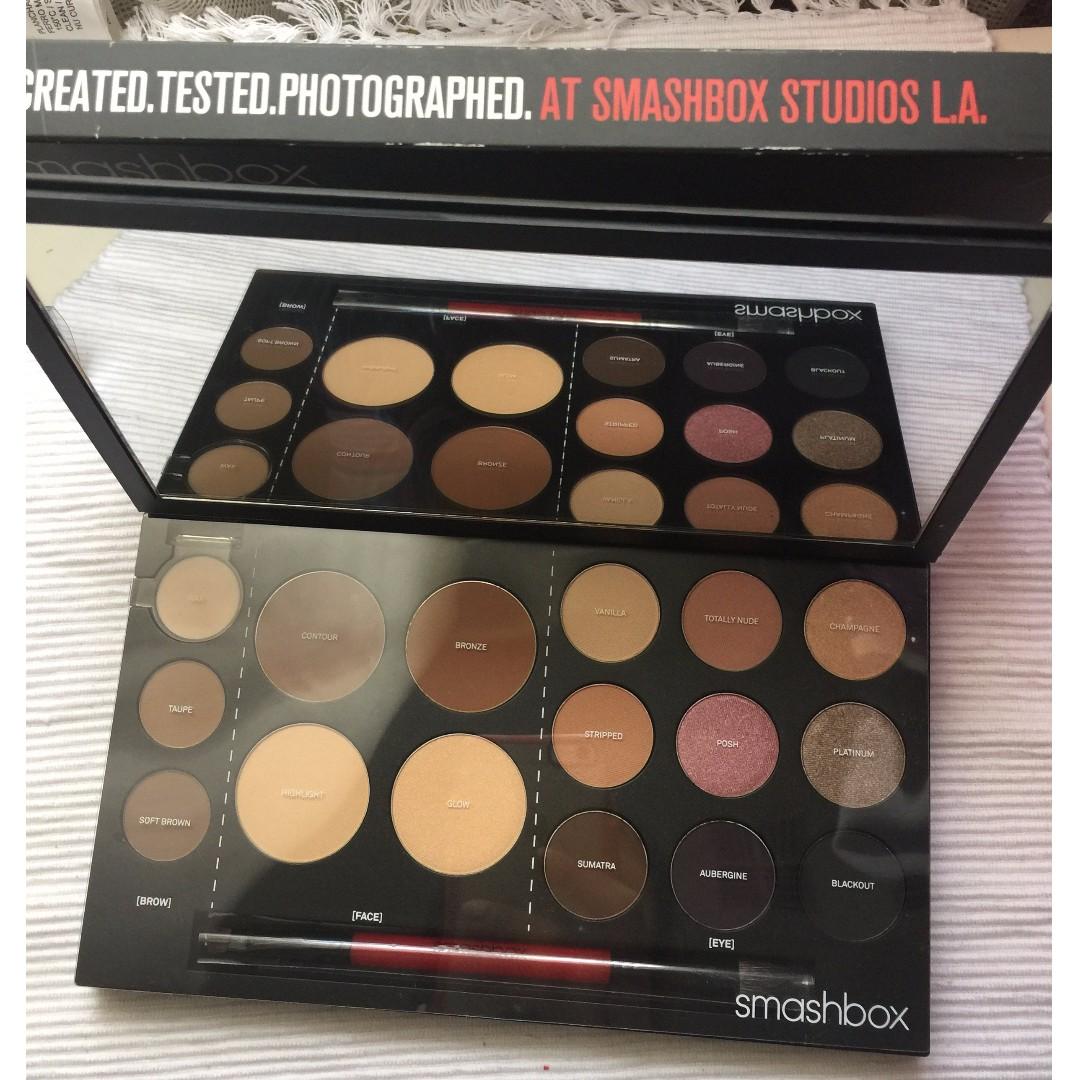 NEW Smashbox #shapematters palette AUTHENTIC