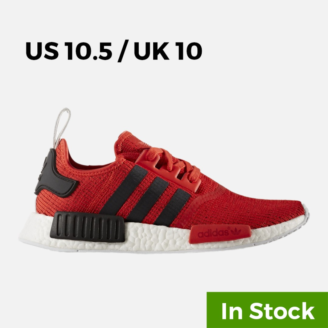 efb288430219b adidas NMD R1 Red Black - US 10.5   UK 10   EU 44⅔ (In Stock ...