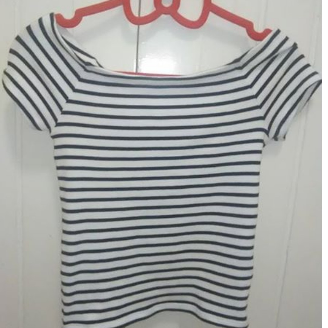 off Shoulder  Top Size SMALL
