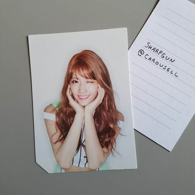 official twice (momo) page two photocard 💎 kpop 💎