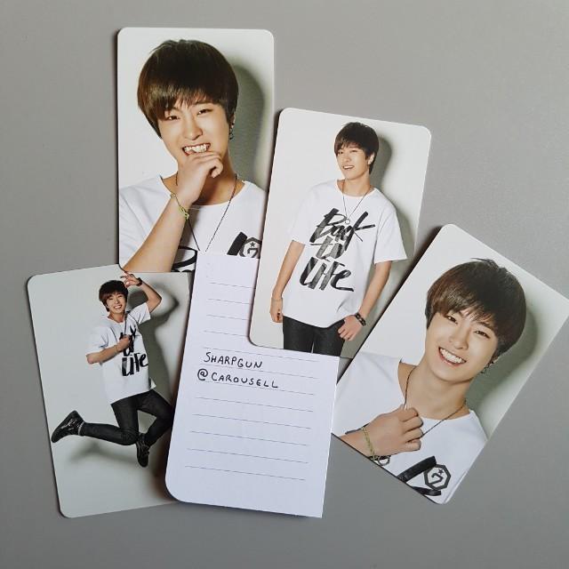 official youngjae  (got7) first goods photocard set 💎 kpop 💎