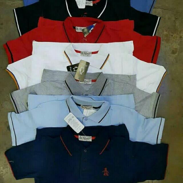 PENGUIN Polo Shirt for HIM  💯% Authentic OverRun