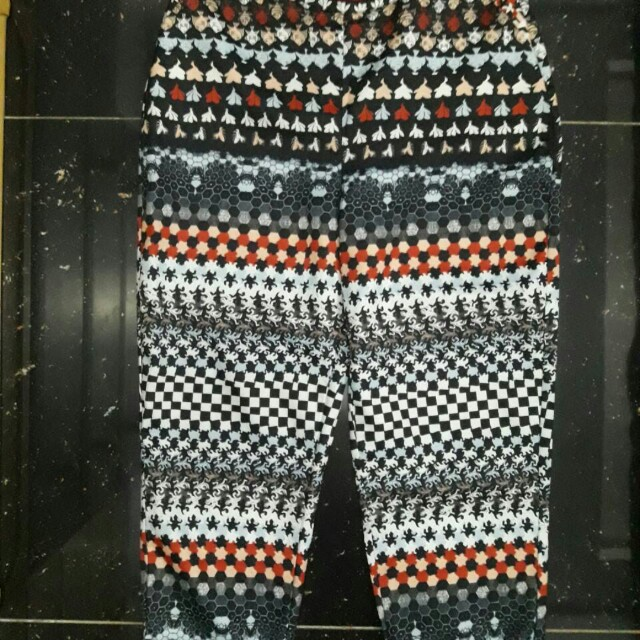 Plains and prints draco pants