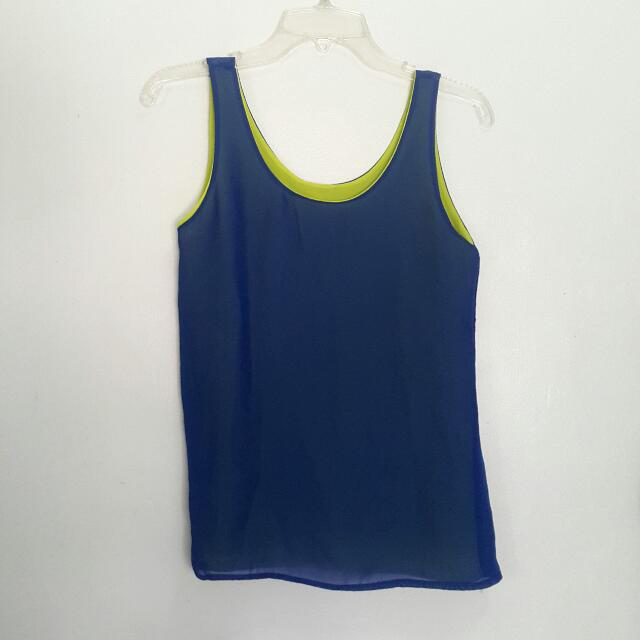 Primadonna Reversible Sleeveless Top