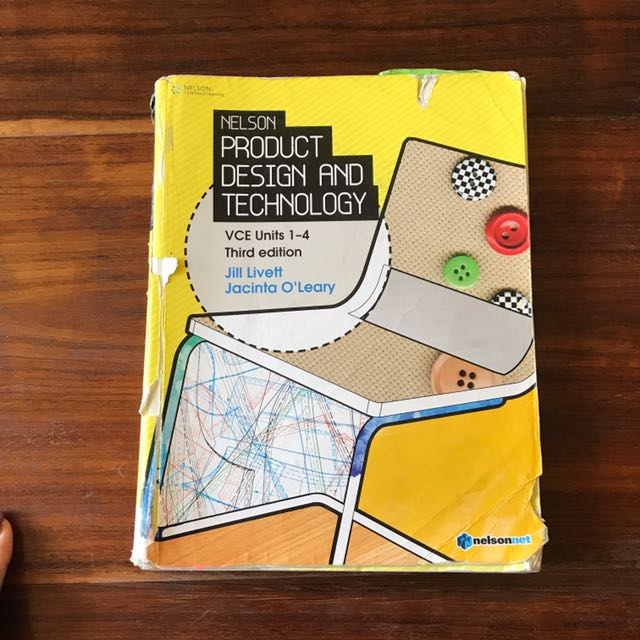 Product design and technology units 1 to 4