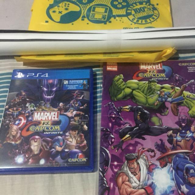 PS4 Game - Marvel Vs Capcom Infinite