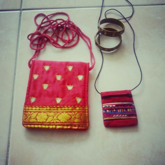 Purses and Bangles ($1 For The Lot)